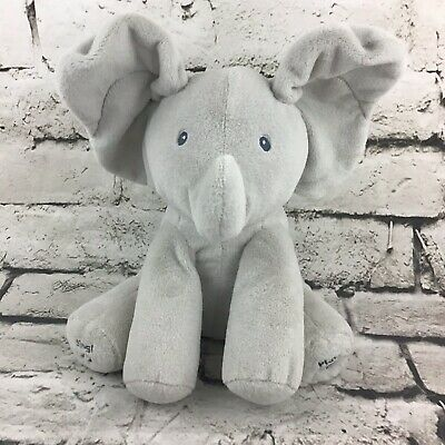 Gund Baby Animated Musical Talking Flappy The Elephant Plush Toy Peek-A-Boo