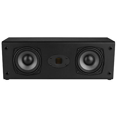 Dayton Audio C452 Air Dual 4 1 2  2 Way Center Channel Speaker With Amt Tweeter