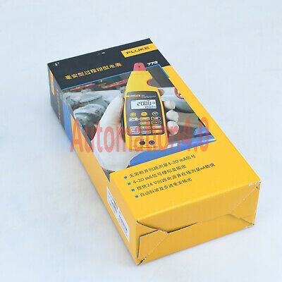 1pc New In Box Digital Fluke 772 Milliamp Process Clamp Meter Tester