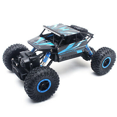 Rc Monster Truck 4Wd Off Road Vehicle 2 4Ghz Remote Control Buggy Crawler Car