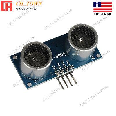 Hc-sr04p Ultrasonic Distance Measuring Transducer Sensor Module For Arduino Usa