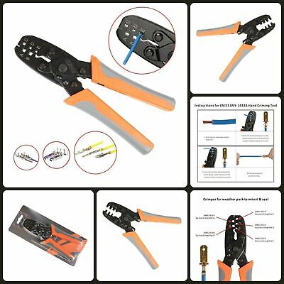 Electrical Open Barrel Terminal Wire Crimper Plier Crimping Tool For Molex Style