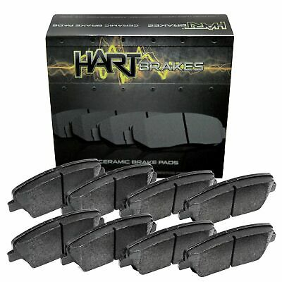 For 12-2008 Hyundai, Kia Entourage, Sedona Front Rear Ceramic Brake Pads