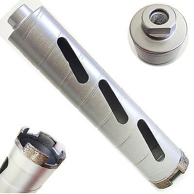 2-34 Dry Diamond Core Drill Bit For Hard Concrete Masonry 58-11 Threads