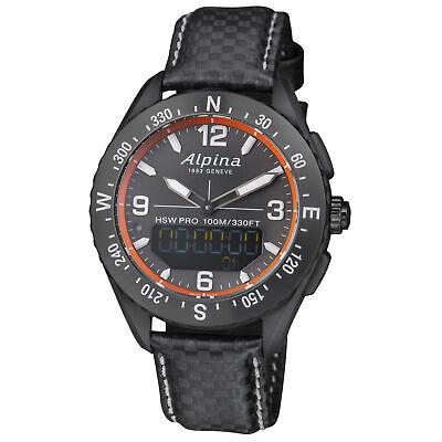 Alpina Alpiner X 135 Years Quartz Movement Black Dial Men's Watch AL283LBGO5AQ6