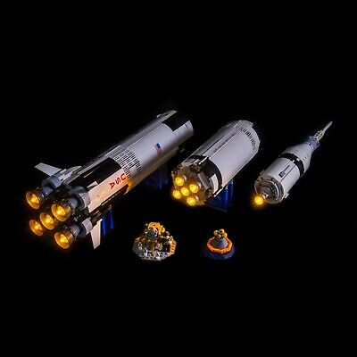 DIY LED Light Kit for LEGO NASA Apollo Saturn V - 21309 - Diy Lego