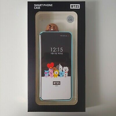 Official BT21 SHOOKY Figure Soft Phone Case Cover for Galaxy S10 KPOP BTS