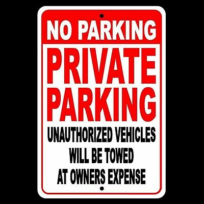 No Parking Private Parking Other Vehicles Towed At Owners Expense Sign Snp009