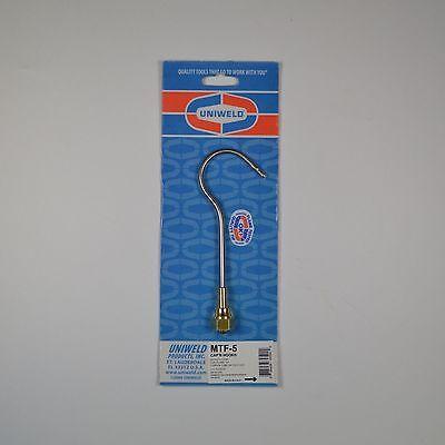Uniweld Mtf-5 Capn Hook Torch Tip Five Flame Oxy-acetylene Brazing Quickship