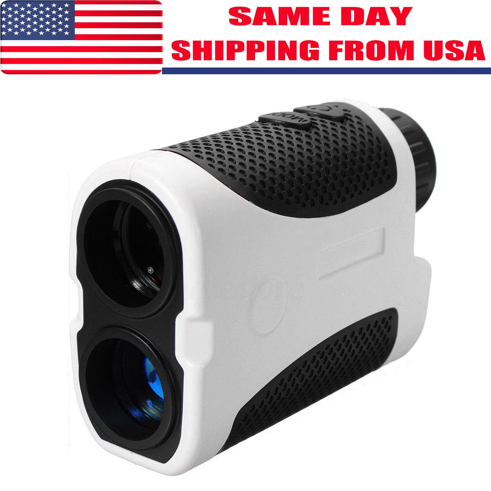 400M Golf Laser Range Finder Monocular Handheld Angle Scan P