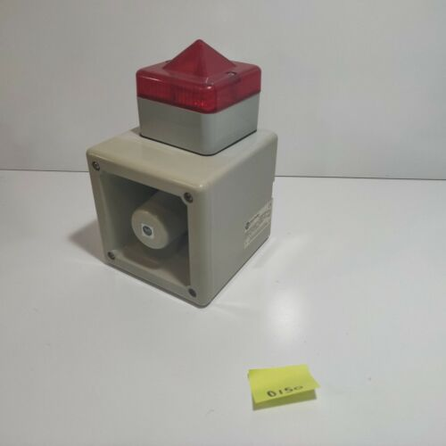 USED Allen Bradley 855H-BCA10CDR4 RED horn/light 112DB alarm (D150)