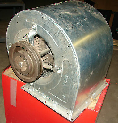 Nicotra At1212s Belt Driven Centrifugal Blower Fan 5500w 1500rpm New