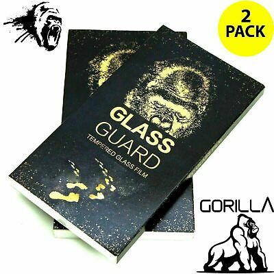 iPhone SE 2 2020 Screen Protector Tempered Glass Film Genuine Gorilla Twin Pack