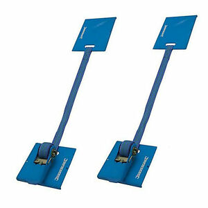 Silverline Laminate Flooring Clamps Install Wood Floor 5m/130mm Ratchet 16D