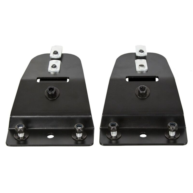 15 series crossbars Pair of Sprinter Tower Brackets Black for use with 8020 TM