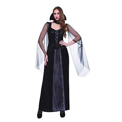 Royal Vampiress Women's Gothic Vampire Halloween Costume Adult One Size #5436