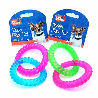 Dog Toy 2 Loop Ring