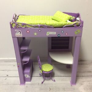 Authentic American Girl Doll McKenna's Loft Bed - Retired