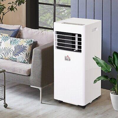 HOMCOM Mobile Air Conditioner W/ RC Cooling Dehumidifying Ventilating 7000 BTU