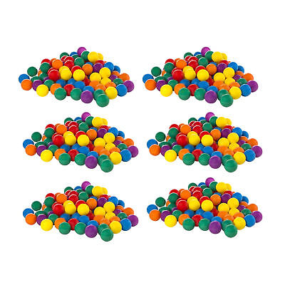 100-Pack Intex Small Plastic Multi-Colored Fun Ballz For A Ball Pit (6 Pack) - Small Ball Pit