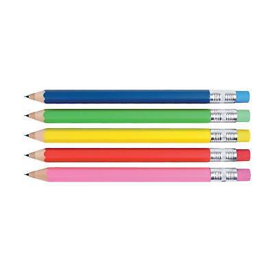 Kikkerland Set of 2 Assorted Rainbow Mechanical Pencils School Work Stationery