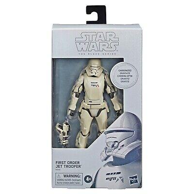 Star Wars Black Series Carbonized Collection First Order Jet Trooper #99 NIB