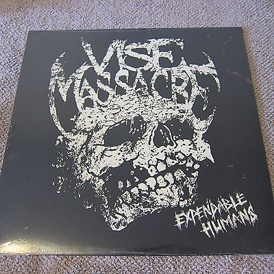 Vise Massacre - Expendable Humans - Brand New Sealed 12