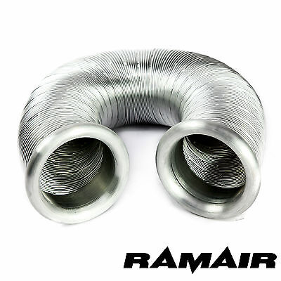 RAMAIR Black PVC Cold Air Feed Flexible Pipe - 3 5/32in 1ft 7/11in