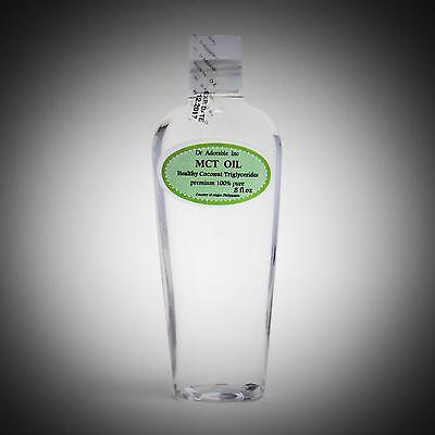 Pure Premium Mct Oil 100  Coconut Sourced Vegan Natural  2 Oz 4Oz Up To Gallon