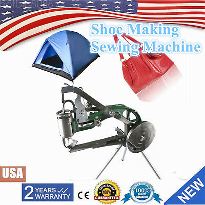 Us Manual Industrial Shoe Making Sewing Machine Equipment Shoes Repairs Sewing