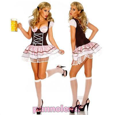 Kostüm Verkleidung Frau OKTOBERFEST Bier Halloween Karneval DL-382