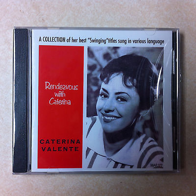 Caterina Valente CD - Rendezvous with   Brand New  27 Tracks on Marginal