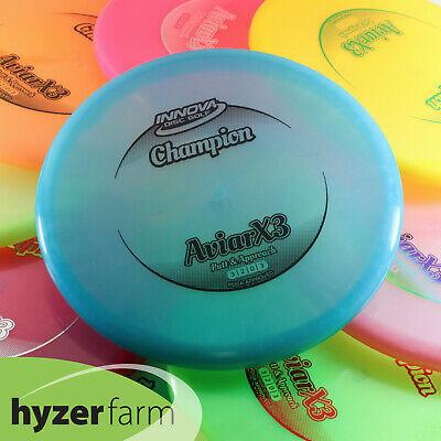 Innova CHAMPION AVIARX3 *pick weight/color* Hyzer Farm AVIAR X3 disc golf putter