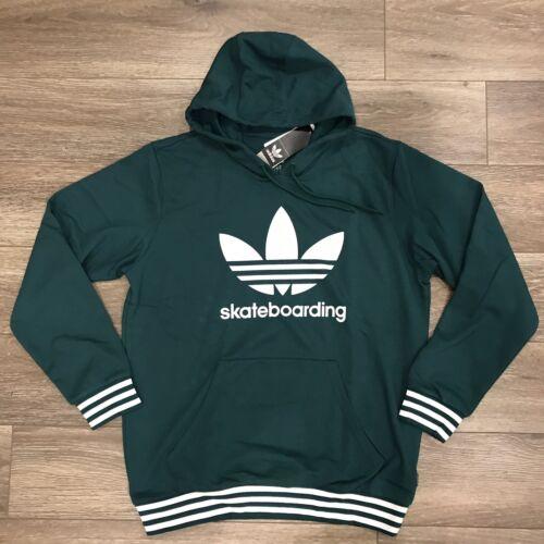 Adidas Hoodie Green Stripes Sz L Skateboarding Cp Company Su