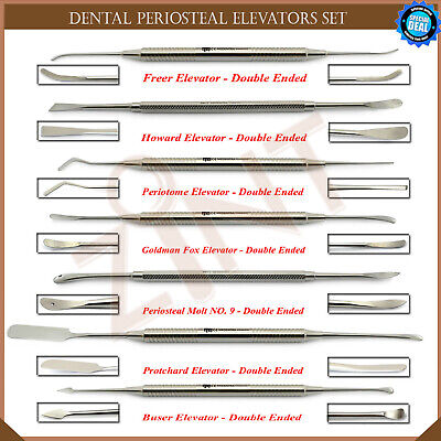 Implant Periosteal Elevators For Thickness Soft Tissue Flaps Buser Freer Lab New