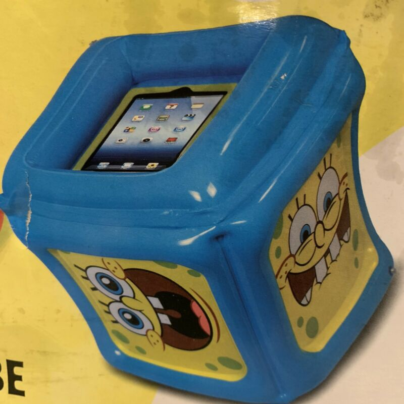 CTA Digital SpongeBob SquarePants Inflatable Play Cube for iPad with App New Box