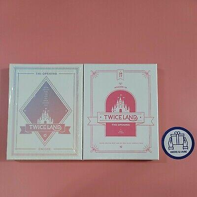 TWICE Twiceland DVD the opening (sealed)+ Encore(opened) 2ea photocard photobook