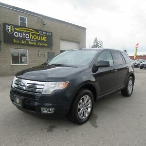 2010 Ford Edge SEL AWD, LEATHER, PANORAMIC SUNROOF