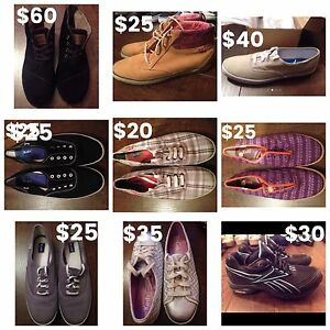 Selling a bunch of pairs of new & barely used women's shoes!