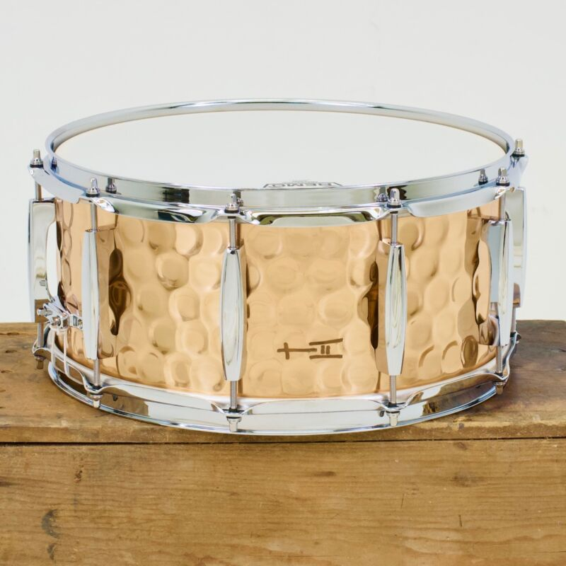 TreeHouse Custom Drums 6½x14 Hammered Bronze Snare Drum