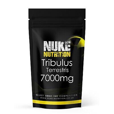 60 x Tribulus Terrestris Tablets Testosterone Booster for Men 7000mg Capsules