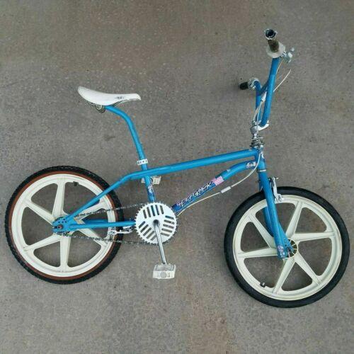 "1987 Maui Blue GT Performer Vintage BMX 20"" Bike Bicycle"