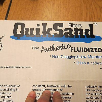 Quiksand quicksand Fluidized Bed Filter 18