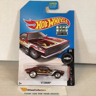 '67 Camaro * 2017 Hot Wheels SUPER Treasure Hunt * FACTORY SET * WG13