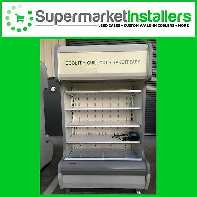 Hill Phoenix Self-contained Open Display Case Food Refrigerator 4ft - Free Ship