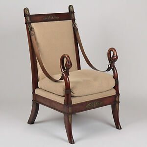 Swan Dining Chair Antique Victorian Period Dining Chair