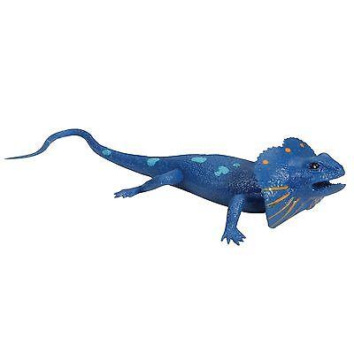 Blau Eidechse Squishimal Squishy Dehnbar Drück Taktile Sensible Herumzappeln