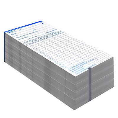 Stempelkarte für Stempeluhr A21 200 Stück