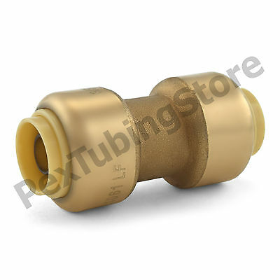 25 38 Sharkbite Style Push-fit Push To Connect Lead-free Brass Couplings