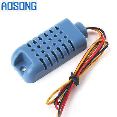 2pcs Amt1001 4.75v-5.25v Resistive Temperature And Humidity Sensor Module Probe